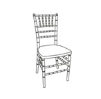 Chiavari Chairs: Furniture/Drake Resin Chiavari Chairs