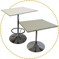 DSN Modular & Linking Banquet Tables & Bar Tables System Conference Style